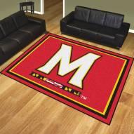 Maryland Terrapins 8' x 10' Area Rug