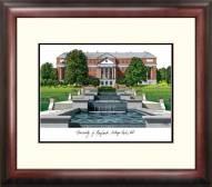 Maryland Terrapins Alumnus Framed Lithograph