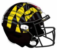 Maryland Terrapins Authentic Helmet Cutout Sign