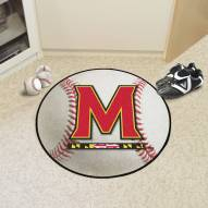 Maryland Terrapins Baseball Rug