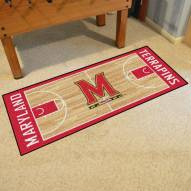 Maryland Terrapins Basketball Court Runner Rug
