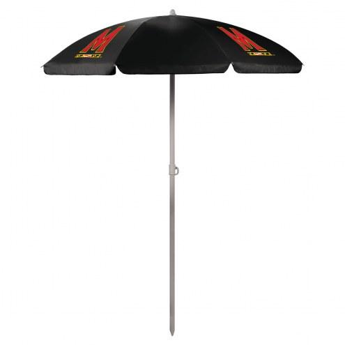 Maryland Terrapins Beach Umbrella