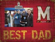 Maryland Terrapins Best Dad Clip Frame