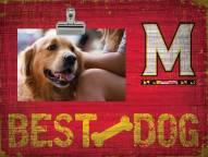 Maryland Terrapins Best Dog Clip Frame