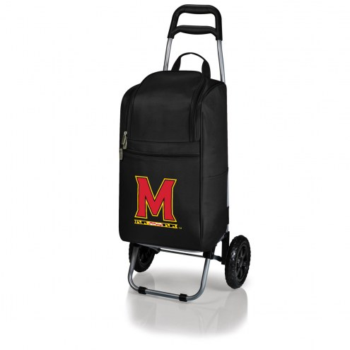 Maryland Terrapins Black Cart Cooler