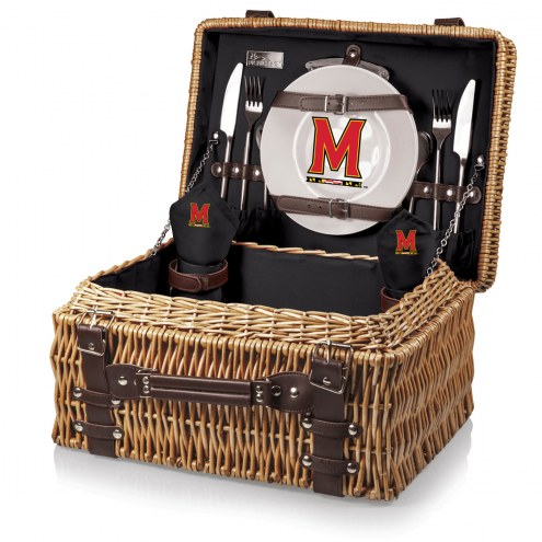 Maryland Terrapins Black Champion Picnic Basket