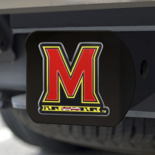 Maryland Terrapins Black Color Hitch Cover