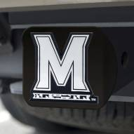 Maryland Terrapins Black Matte Hitch Cover