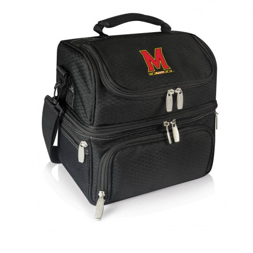 Maryland Terrapins Black Pranzo Insulated Lunch Box