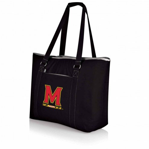 Maryland Terrapins Black Tahoe Beach Bag