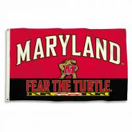 Maryland Terrapins 3' x 5' Fear The Turtle Flag