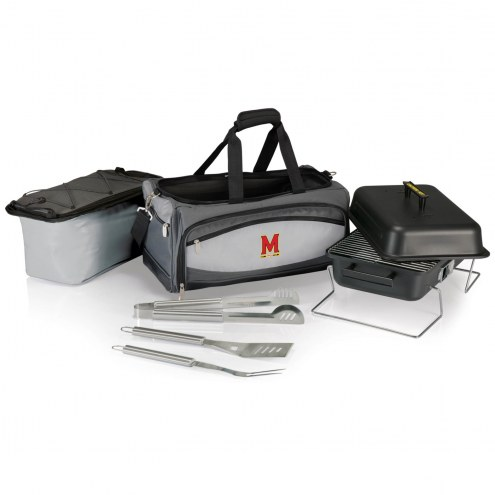 Maryland Terrapins Buccaneer Grill, Cooler and BBQ Set