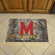 Maryland Terrapins Camo Scraper Door Mat