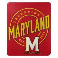 Maryland Terrapins Campaign Fleece Throw Blanket