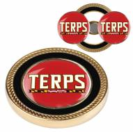 Maryland Terrapins Challenge Coin with 2 Ball Markers