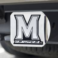 Maryland Terrapins Chrome Metal Hitch Cover
