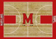 Maryland Terrapins College Home Court Area Rug