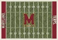 Maryland Terrapins College Home Field Area Rug