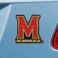 Maryland Terrapins Color Car Emblem