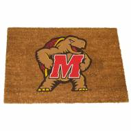 Maryland Terrapins Colored Logo Door Mat