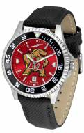 Maryland Terrapins Competitor AnoChrome Men's Watch - Color Bezel