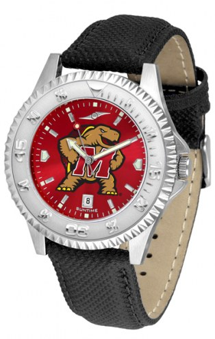 Maryland Terrapins Competitor AnoChrome Men's Watch