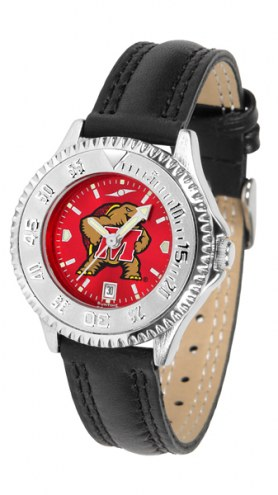 Maryland Terrapins Competitor AnoChrome Women's Watch