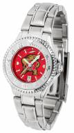 Maryland Terrapins Competitor Steel AnoChrome Women's Watch