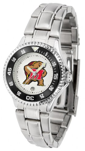 Maryland Terrapins Competitor Steel Women's Watch