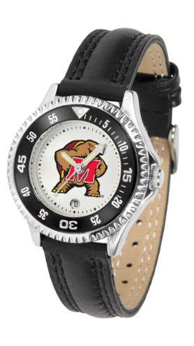 Maryland Terrapins Competitor Women's Watch