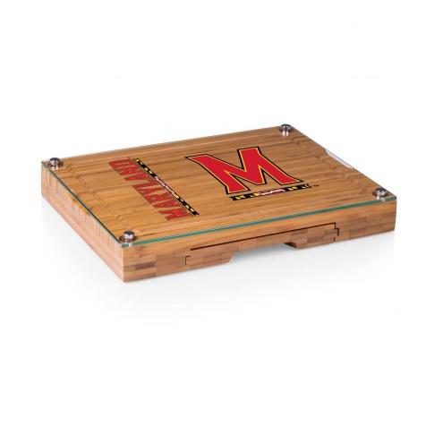 Maryland Terrapins Concerto Bamboo Cutting Board