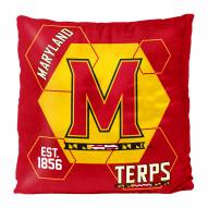 Maryland Terrapins Connector Double Sided Velvet Pillow
