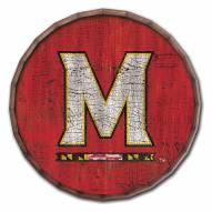 "Maryland Terrapins Cracked Color 24"" Barrel Top"
