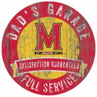 Maryland Terrapins Dad's Garage Sign
