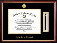 Maryland Terrapins Diploma Frame & Tassel Box