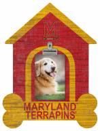 Maryland Terrapins Dog Bone House Clip Frame
