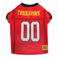 Maryland Terrapins Dog Football Jersey