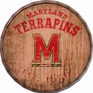 """Maryland Terrapins Established Date 24"""" Barrel Top"""