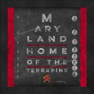 Maryland Terrapins Eye Chart