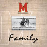 Maryland Terrapins Family Picture Frame