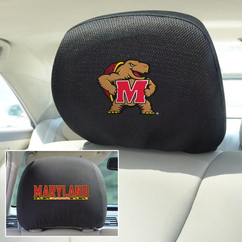 Maryland Terrapins Headrest Covers