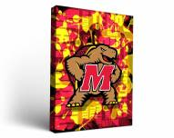 Maryland Terrapins Fight Song Canvas Wall Art