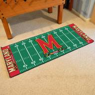 Maryland Terrapins Football Field Runner Rug