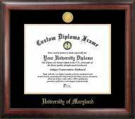 Maryland Terrapins Gold Embossed Diploma Frame