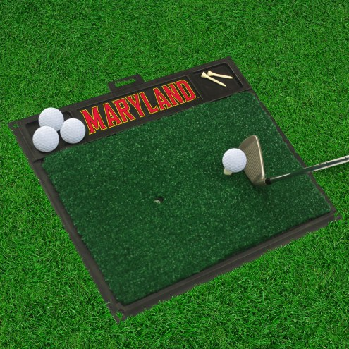Maryland Terrapins Golf Hitting Mat