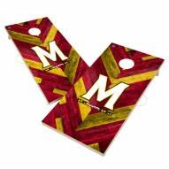 Maryland Terrapins Herringbone Cornhole Game Set