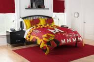 Maryland Terrapins Hexagon Full/Queen Comforter & Shams Set