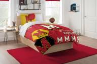 Maryland Terrapins Hexagon Twin Comforter & Sham Set