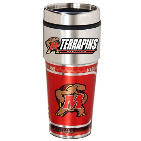 Maryland Terrapins Hi-Def Travel Tumbler