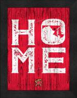 Maryland Terrapins Home Away From Home Wall Decor